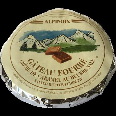 Gateau fourré à la crème de caramel au beurre salé, 300g