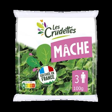 Les Crudettes Mache, Les Crudettes, Sachet 100g