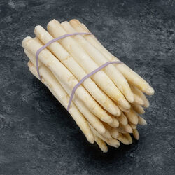 Asperge blanche, calibre 16/22, France, la botte 1kg