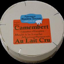 """Camembert au lait cru """"calandoce d'exception"""", 22%MG, M.Pennec 250g"""
