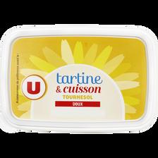 Margarine allégée de cuisson au tournesol U, 60% de MG, 250g