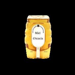 Miel d'Acacia liquide LES RUCHERS DE BOURGOGNE, 360g