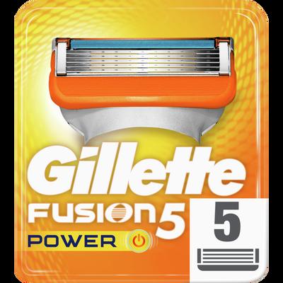 Lames gillette power FUSION, x5