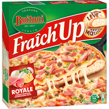 Buitoni Pizza Fraich Up Jambon, Fromage, Champignons Royale , 600g