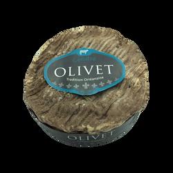 Olivet fleuri cendré au lait pasteurisé 22%mg JACQUIN 250g