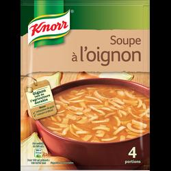 Soupe à l'oignon gratinée emmental déshydratée KNORR, 84g, 1l