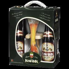 Kwak Coffret De Bières , 8,4°, 4x33cl + 1 Verre