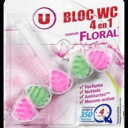 Bloc WC 4 en 1 parfum floral U, 55g
