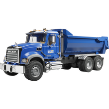 Camion benne mack granite halfpipe 63 cm