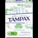 Tampax Tampon 100% Coton Organic Super , X16