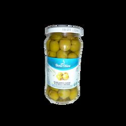 Olives vertes farcies à la pâte d'anchois DONA OLIVA, 210g
