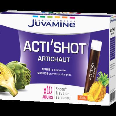 JUVAMINE ACTI'SHOT ARTICHAUT, 10 shots