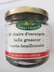 36 CHAIRS D'ESCARGOTS BELLE GROSSEUR COURTS-BOUILLONNEES