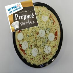 Pizza 3 fromages FABRICATION MAISON 600g