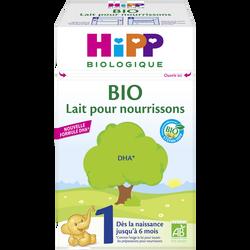HIPP 1 pour nourrissons bio jusqu'à 6 mois boîte 600g