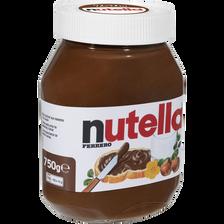 Nutella Pâte À Tartiner , Pot De 750g