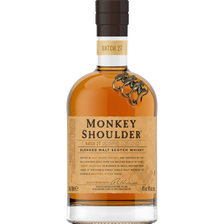 Monkey Shoulder Scotch Whisky Blended Malt , 40°, Bouteille De 70cl