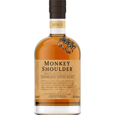 Scotch whisky blended malt MONKEY SHOULDER, 40°, bouteille de 70cl