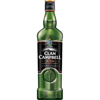 Blended Scotch Whisky CLAN CAMPBELL, 40°, bouteille de 70cl