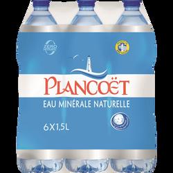 Eau minérale naturelle PLANCOËT, 6x1,5l