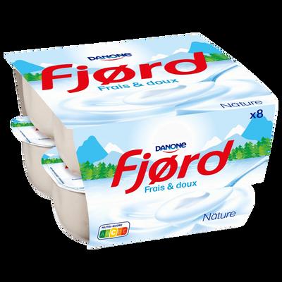 Spécialité laitière nature FJORD, 8x125g