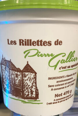 RILLETTES GALLIER 470G