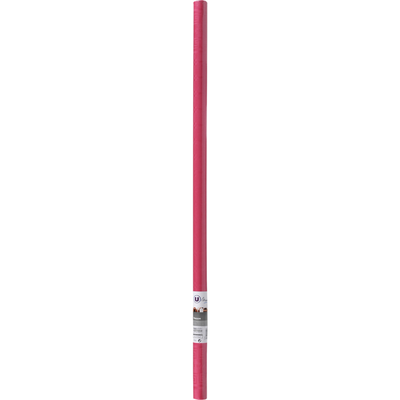 Nappe en papier damassé U MAISON, fuschia, rouleau de 1.18x7m
