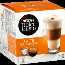 Latte Macchiato en dosettes DOLCE GUSTO, 16 unités soit 194g