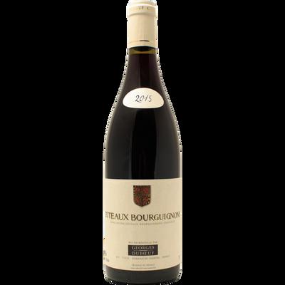 Côteaux Bourguignons AOC rouge GEORGES DUBOEUF, bouteille de 75cl