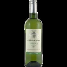 Vin blanc AOC Bordeaux Sauvignon Château Lary 2017, bouteille de 75cl