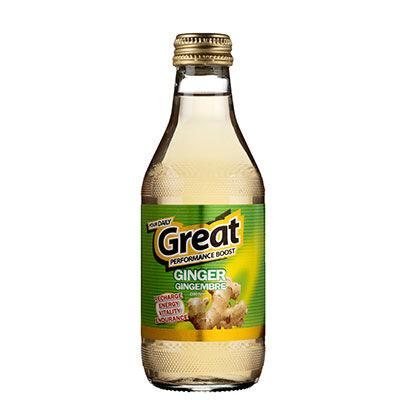 Boisson au gingembre GREAT (vert), le pack de 6x25cl