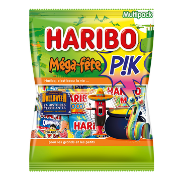 Haribo Mega Fête Pik Halloween Haribo, 720g