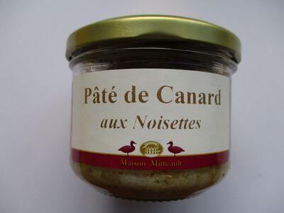 PATE DE CANARD AUX NOISETTES BOCAL 180G
