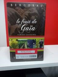 BERGERAC,ROUGE,Le Fruit de Gaïa,5l