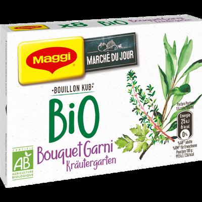 Bouillon bouquet garni BIO MAGGI, 20 sachets de 80g