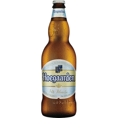 Bière blanche HOEGAARDEN, 4,9°, 75cl