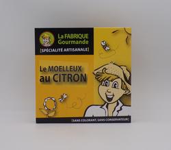 Le moelleux au citron LA FABRIQUE GOURMANDE boîte de 220g