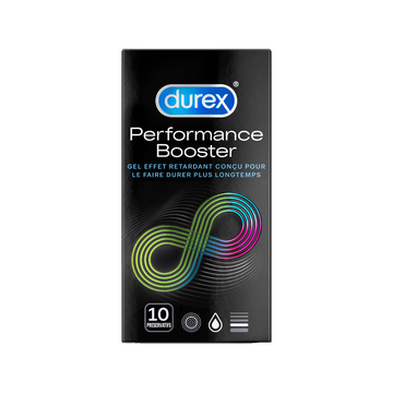 Durex Préservatifs Performance Booster Durex, Boîte De 10