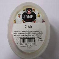 Crème glacée Créole JAMPI, pot de 10c