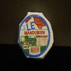 LE MANDUBIEN FROMAGE A PATE MOLLE AU LAIT PASTEURISE 26.9%MG