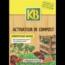 Activateur de compost KB, pour tous déchets végétaux du jardin et de la maison