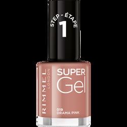 Vernis à ongles super gel 019 drama pink RIMMEL, sous blister, 12ml