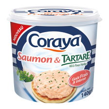 Saumon et son fromage frais ail et fines herbes CAP OCEAN, 140g