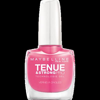 Vernis à ongles tenue & strong 125 enduring pink GEMEY MAYBELINE, nu