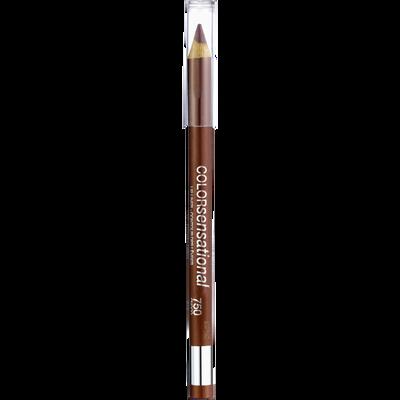 Rouge à lèvres color sensational crayon lèvres 750 choco pop GEMEY MAYBELINE, nu