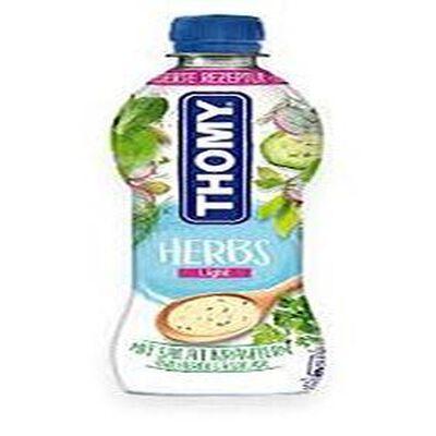 Sauce à salade à calories réduites aux herbes, Thomy, 700ml