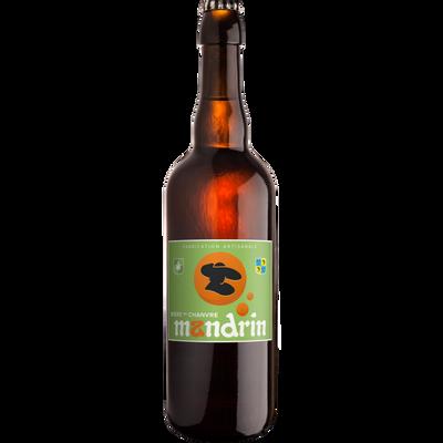 Bière au chanvre MANDRIN 6°, bouteille 75cl