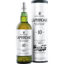 Laphroaig Scotch Whisky Single Malt , 40°, 10 Ans D'âge, 70cl