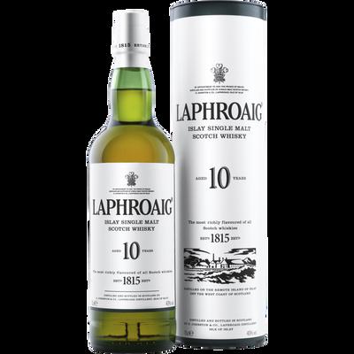 Scotch whisky single malt LAPHROAIG, 40°, 10 ans d'âge, 70cl