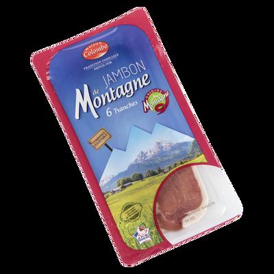 Jambon sec supérieur produit de montagne COLOMBO 6tr.90g